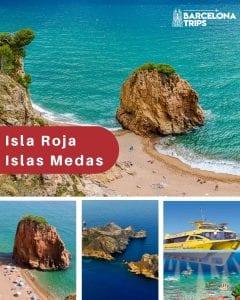 Las Islas Medas y Isla Roja