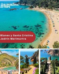 Blanes y Santa Cristina