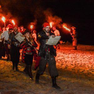 Fira Pirates i Corsaris a les Illes Medes a l'Estartit. Foto: ESTACIÓ NÀUTICA L'ESTARTIT